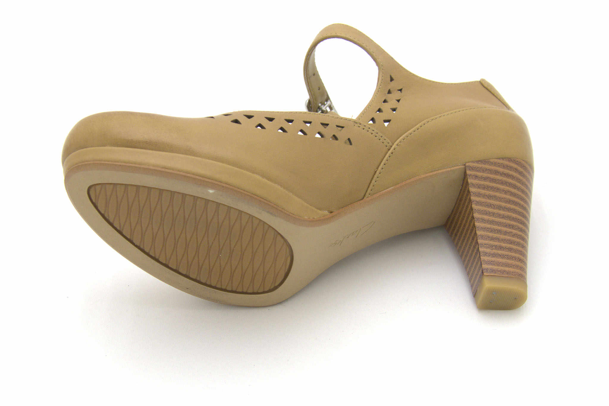 Clarks Chorus Chime TAN LEATHER 37