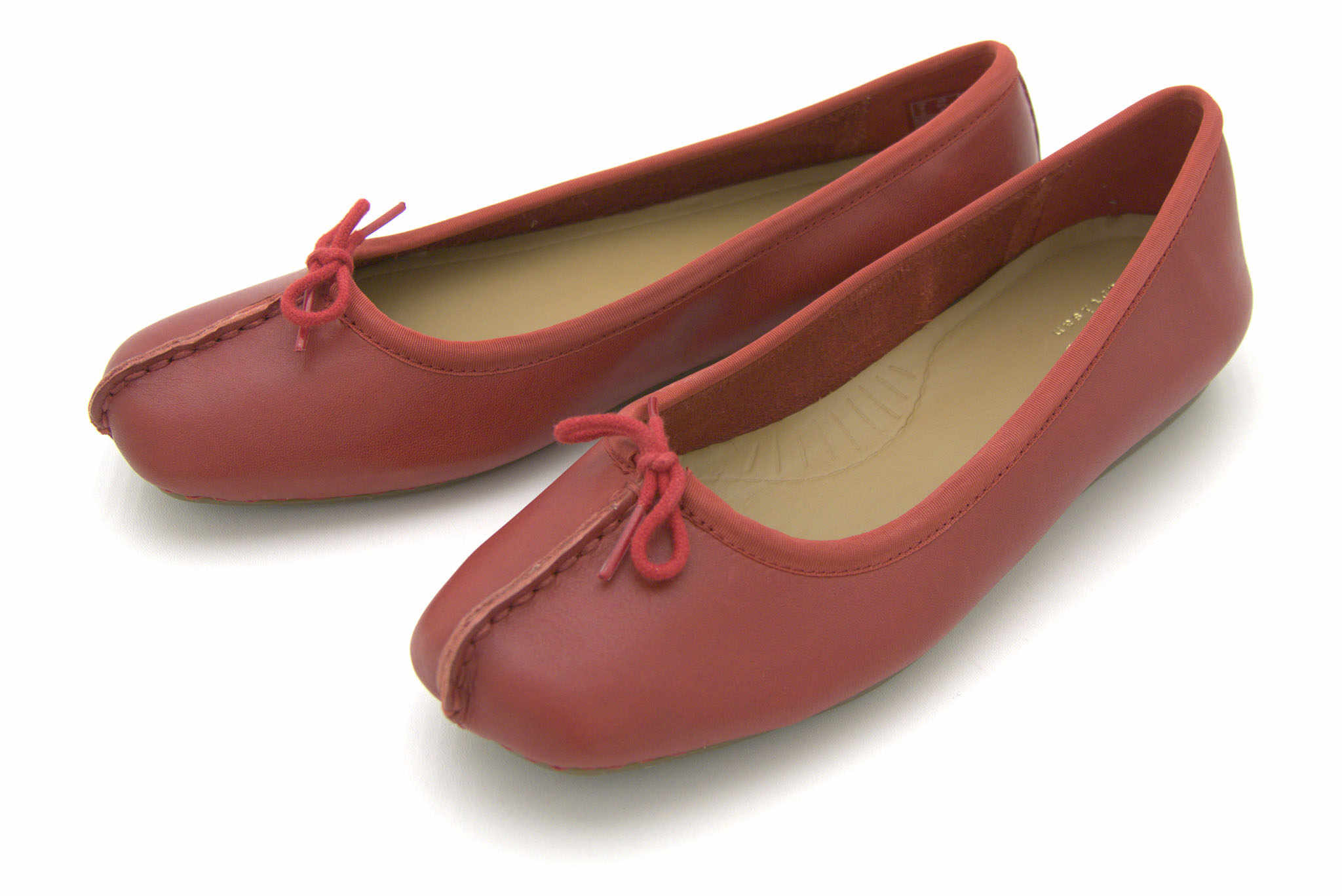 Clarks Freckle Ice RED NUBUCK 41