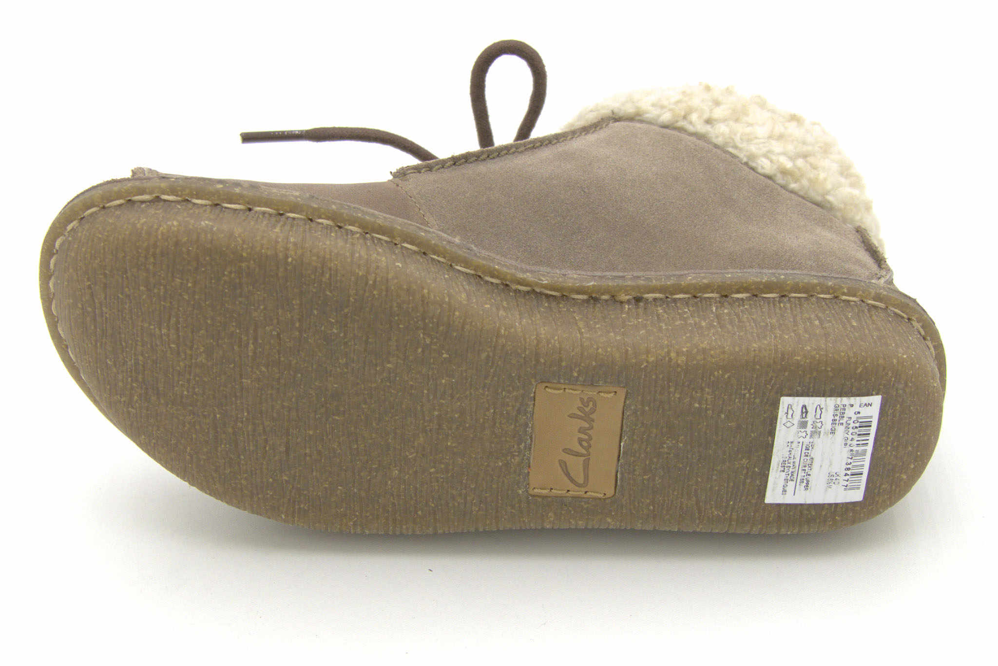 Clarks Funny Girl PEBBLE