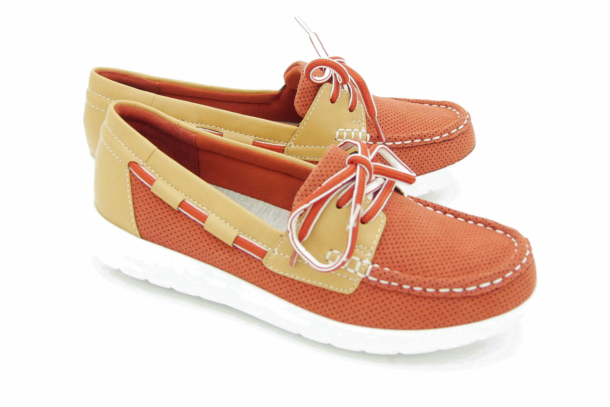 Clarks Jocolin Vista RED NUBUCK 39,5