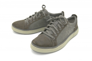 Clarks Lorsen Edge GREY COMBI LEATH