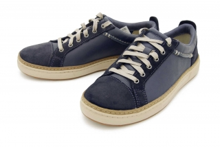 Clarks Lorsen Edge NAVY COMBI LEATH