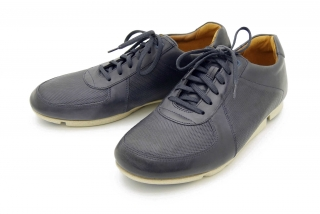 Clarks Triturn Race DARK BLUE LEATHE