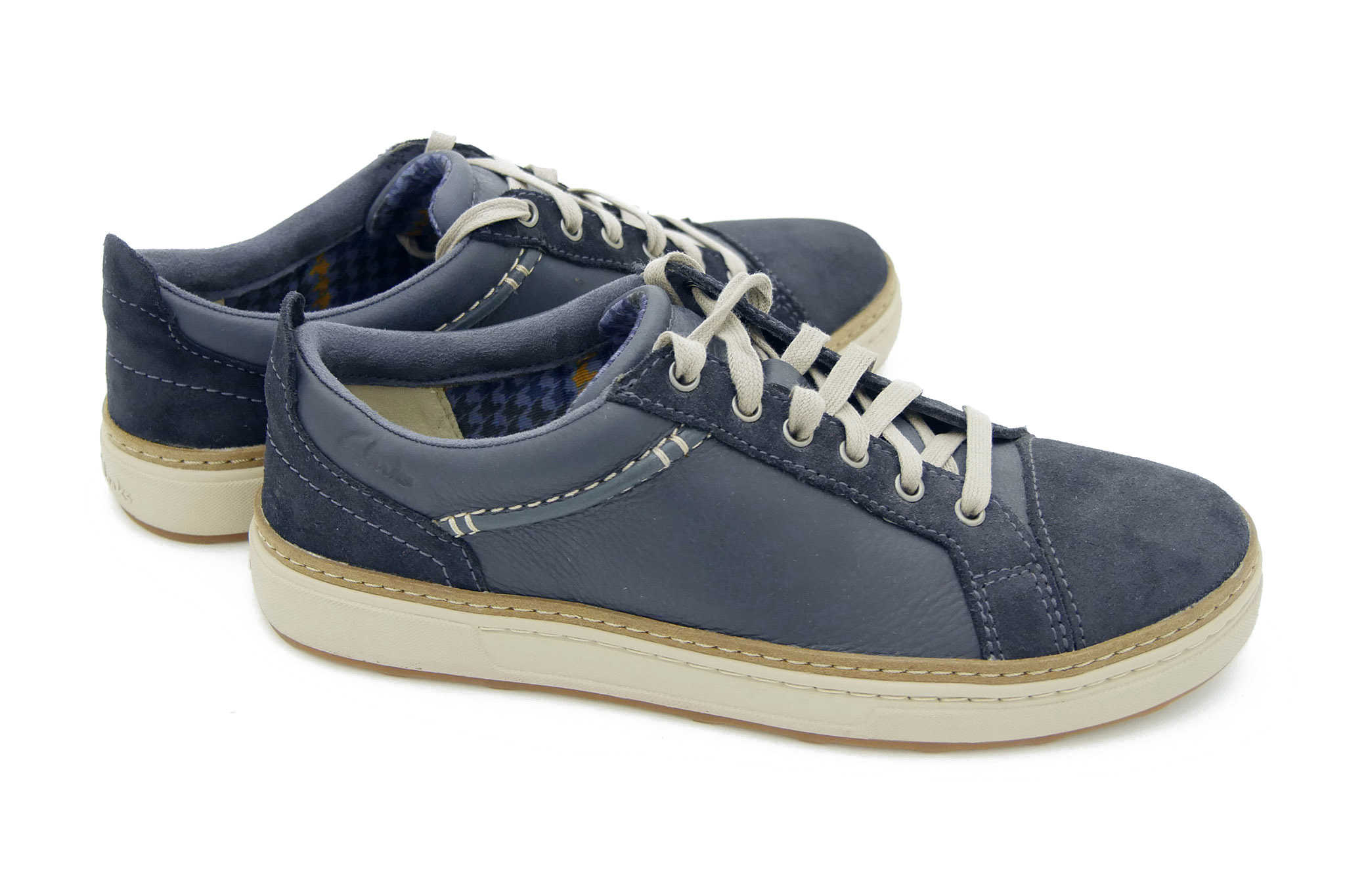 Clarks Lorsen Edge NAVY COMBI LEATH 41