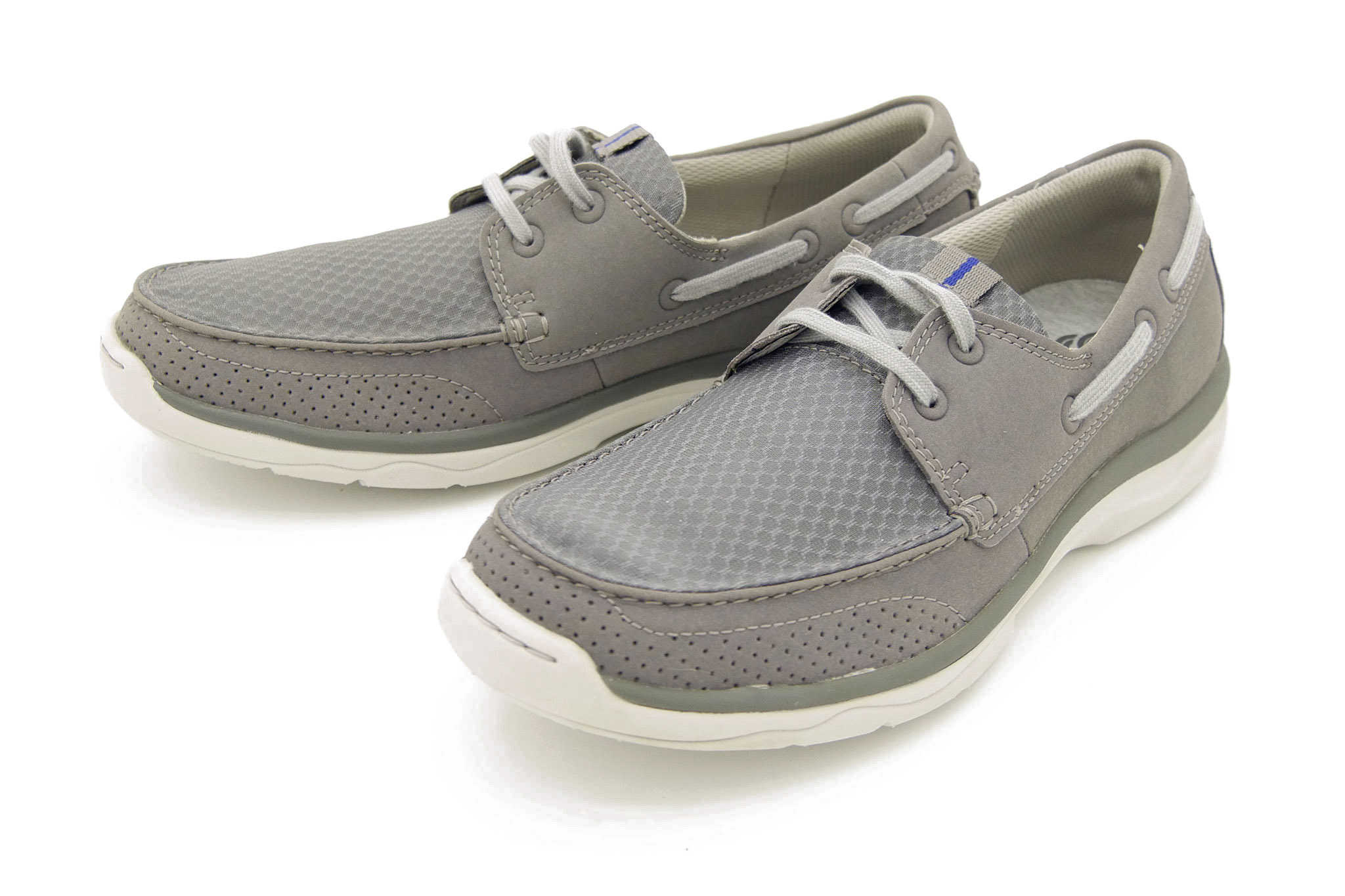 Clarks Marus Edge GREY 44
