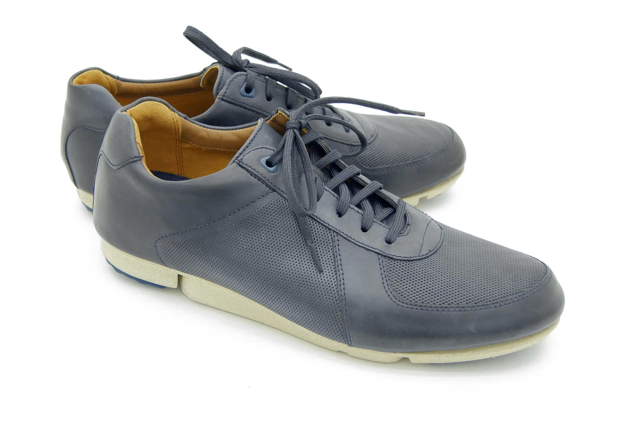 Clarks Triturn Race DARK BLUE LEATHE 46
