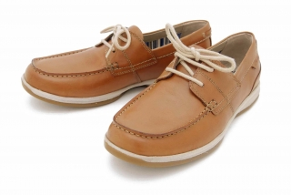 Clarks Fallston Style TAN LEATHER